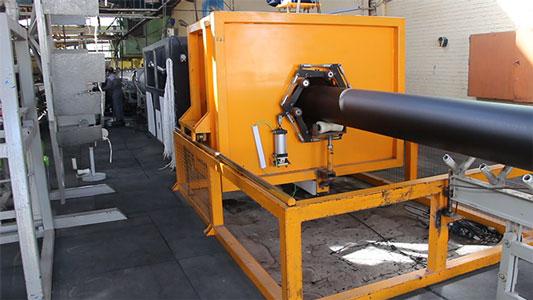 خط تولید لوله پلی اتیلن 110 تا 500