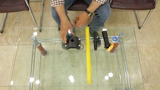 فیلم آموزش نصب شیر خودکار