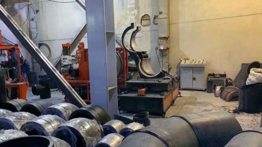تولید اتصالات پلی اتیلن از سایز 313